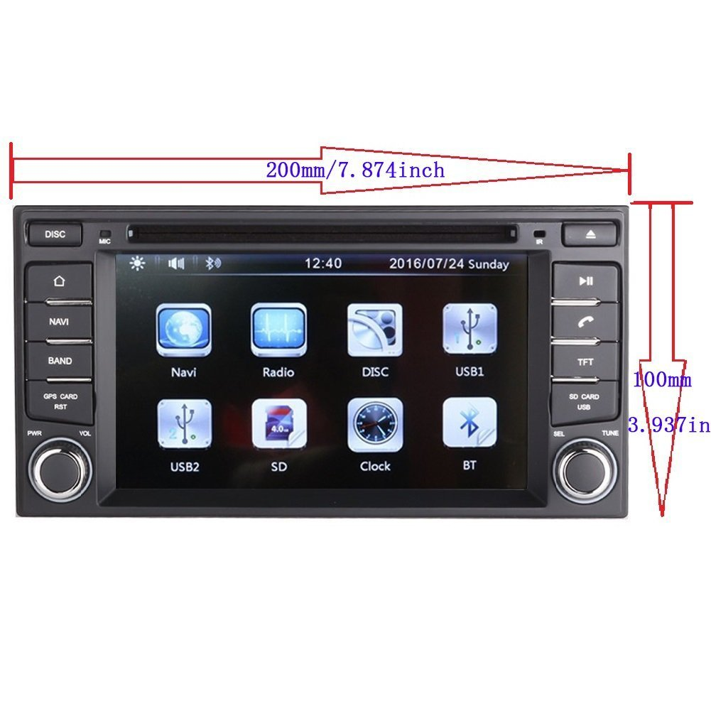 "Amazon.com: 6.2"" Car GPS Navigation System for Nissan Pathfinder/Nissan  Frontier/ Nissan Versa /Nissan Murano/Nissan 350z/Nissan Sentra/ Nissan  Nv200 Car ..."
