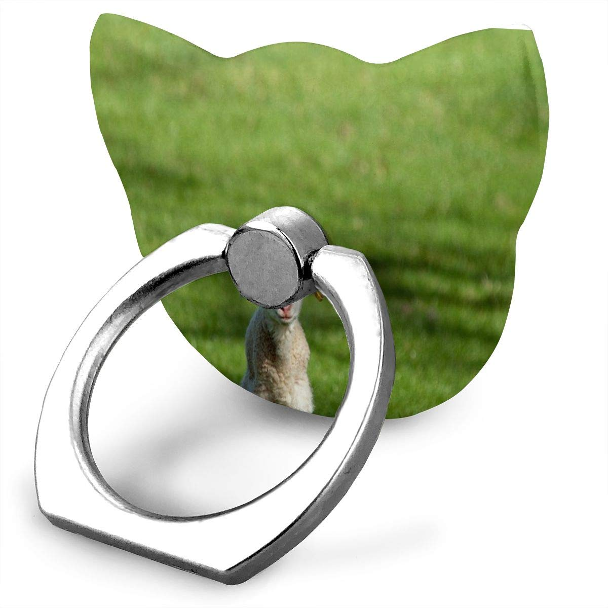 Ring Holder Mercy Cannot Exist Without Judgement Cat Type Ring Mobile Phone Holder Adjustable 360/° Finger Cat Type Ring Stand for IPad Phone X//6//6s//7//8//8 Plus//7 Galaxy S9//S9 Plus//S8//S7