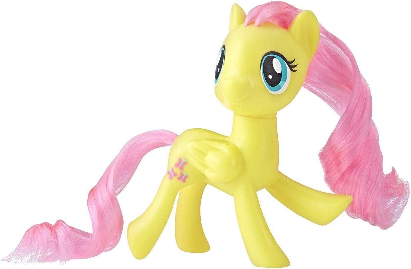 Amazon Com My Little Pony Mane Pony Fluttershy Classic Figure Toys Games