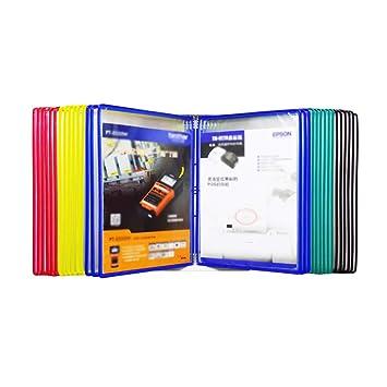 QSJY File Cabinets Estantería de guía para Colgar en la ...