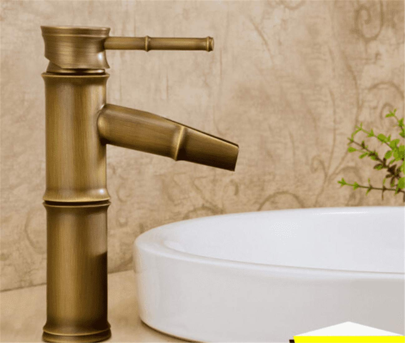 D Mucert Tap,All Copper,European Style Archaize Tap,Hot and Cold Water,Bathroom Retro Basin Faucet,K