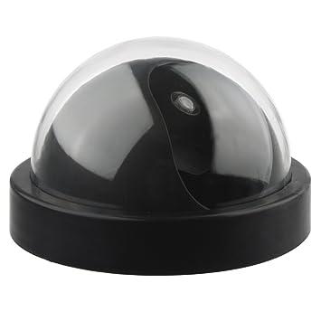 DEFEWAY alarmas Falsas,camaras de vigilancia Falsas Dummy Cúpula Cámara De Seguridad con Luz Intermitente LED: Amazon.es: Bricolaje y herramientas