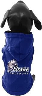 product image for NCAA Drake Bulldogs Cotton Lycra Hooded Dog Shirt