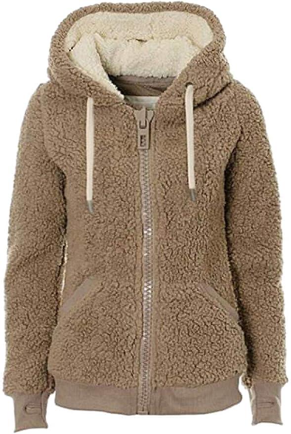 Fubotevic Mens Zip Up Casual Fall /& Winter Letter Print Hoodie Hooded Sweatshirts Jacket Coat