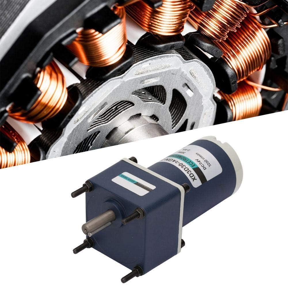 XD3D30-24GN-32S Permanent Magnet Adjustable Speed Reduction Gear Motor KONGZIR DC24V 30W Reduction Motor 130RPM