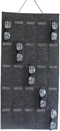 Occhiali Organizer da Parete Multi Sacchetti per Occhiali GCDN Multi Tasche Occhiali Borsa Portaoggetti Muro Organizer Porta Oggetti da Appendere Borsa per Occhiali Chiavi ECC. Cartoline