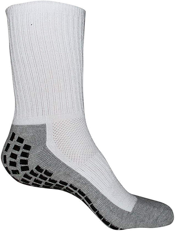 2 pairs of Non Slip Socks, THE BEST Adult Hospital and Home Care Socks, Skid Resistant, Slipper Socks, Unisex Gripper Socks