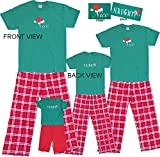 Naughty Nice Set; Adult X-Large; RW Plaid Pants