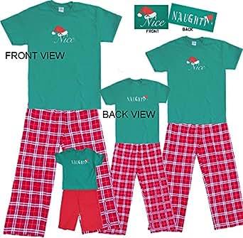 Naughty Nice Set; Adult Small; RW Plaid Pants
