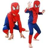(ビモラ)VIMORA ハロウイン スパイダーマン 衣装 コスチューム衣装 子供 コスプレ 服 上下セット