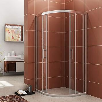Sunny Shower B22 36 710 Neo Round Corner Semi Frameless Sliding