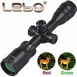 lebo AR15 Rifle Scopes(4x32 &3-9x32AOME) Optics Mil dot Reticle AO Adjustment Gun Sight for Hunting