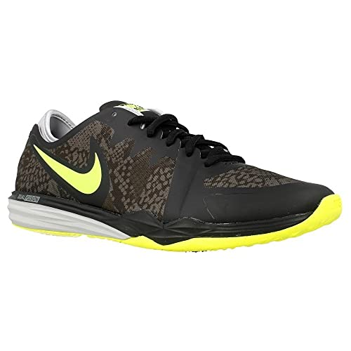 fashion new high hot sale Nike Women's W Dual Fusion TR 3 Print Gymnastics Shoes, Black ...
