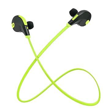 Auriculares Bluetooth Deporte Rymemo Running Auriculares Inalambricos Manos Libres Bluetooth con Microfono para iPhone 7 Samsung y Android Phone: Amazon .es: ...