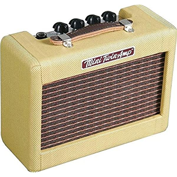 Fender 023-4811-000 Mini 57 Twin-Amp, Tweed: Amazon.es ...