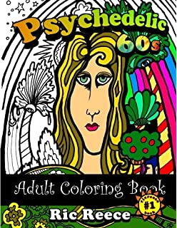 High Visions - Psychedelic Coloring Book: Amazon.co.uk: Gareth Hovey ...