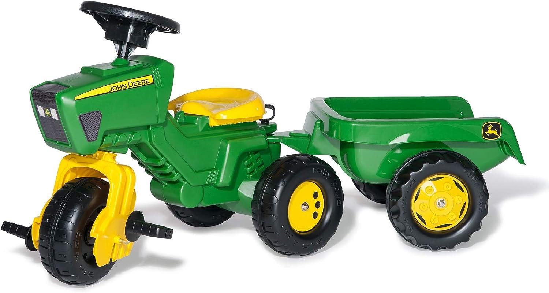 rolly toys 052769 - Triciclo en Forma de Tractor John Deere con Sonido [Importado de Alemania]