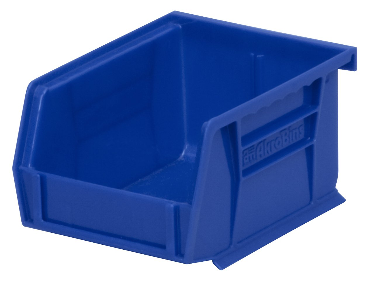 Akro-Mils 30210 Plastic Storage Stacking Hanging Akro Bin, 5-Inch by 4-Inch by 3-Inch, Blue, Case of 24