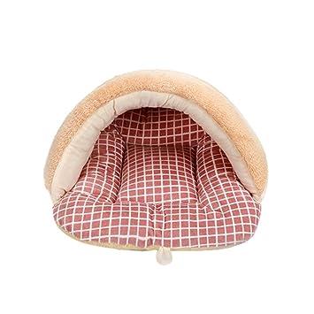 iBasteES Cama para Mascotas Cama para Perros pequeños Cama para perreras Sofá Material de Lana Ropa