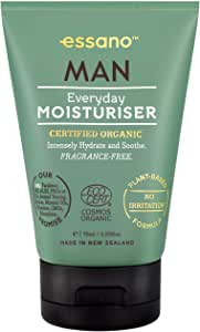 Essano Man Sensitive Shave Gel - Plant Based Formula to Protect Against Redness, 120ml