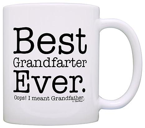 Amazon.com: Regalo de cumpleaños para abuelo, taza de té o ...