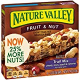Nature Valley Chewy Granola Bar, Trail Mix, Fruit and Nut, 7.4 Oz (Pack of 12)