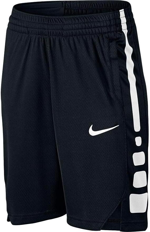 Nike B Nk Dry Short Elite Stripe - Pantalón Corto de Baloncesto ...