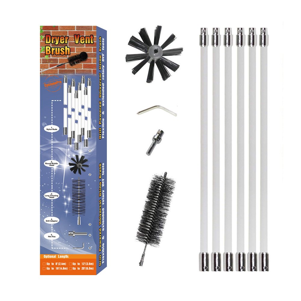 Amazon Com Dryer Duct Cleaning Kit No Stuck No Loose
