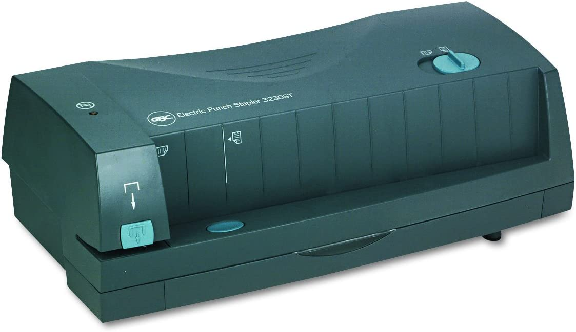 Swingline Electric Paper Punch/Stapler 2 or 3 Hole, 24 Sheet, 3230ST - 7704280 : Electronic Hole Puncher : Office Products