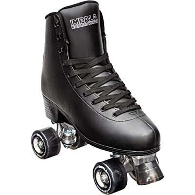 Impala Rollerskates Impala Quad Skate (Big Kid/Adult) Black 2 (9-10 Years): Office Products