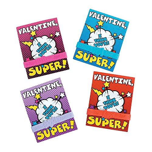 Superhero Cards with Bracelet