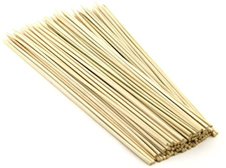 Webshoppers Long Bamboo Cocktail Party Sticks (12inch) -90 Pieces