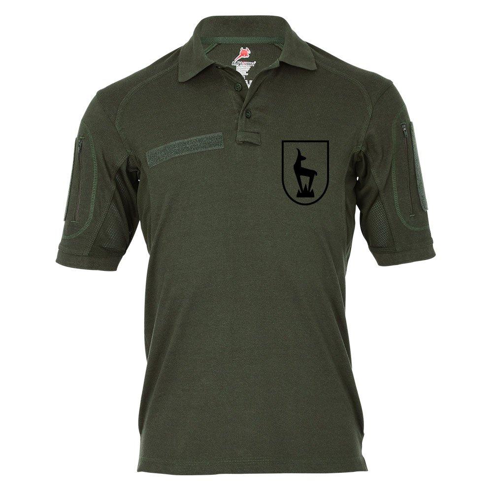 Tactical Poloshirt Alfa - Horrido die Gams Gebirgsjäger Steinbock Jäger Bundeswehr Militär Alpen #19311