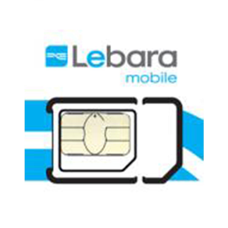 Lebara Pay as you go Micro/tarjeta SIM estándar unidades, 2 SIMs ...