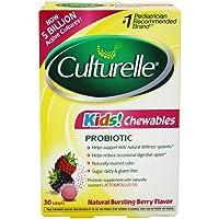 60-Tablets Culturelle Kids Chewables Probiotic Tablets
