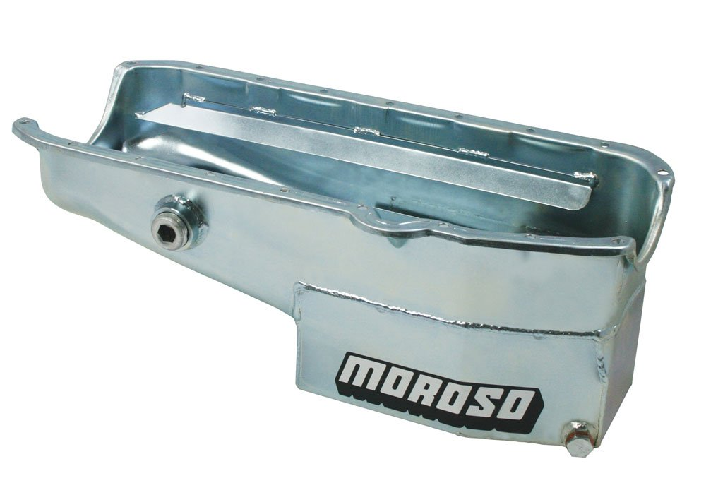 Moroso 21322 7.5' Oval Track Oil Pan for Chevy Small-Block Engines