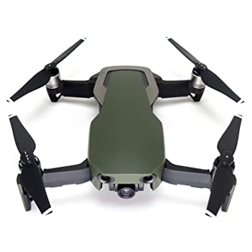 WRAPGRADE Poly Skin para dji Mavic Air | Unidad A (Army Green ...