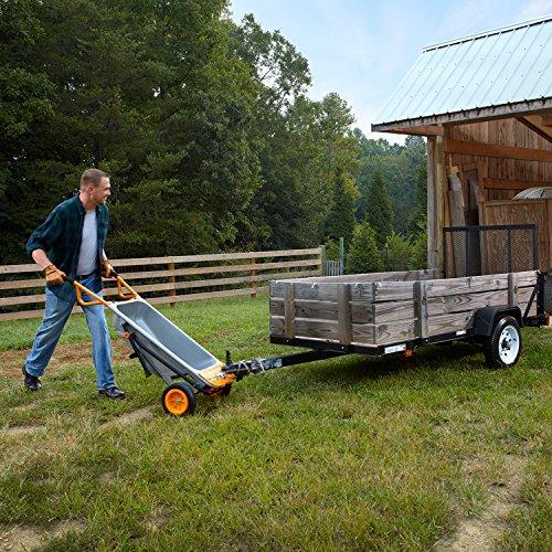 WORX WG050 Aerocart 8-in-1 2-Wheel Wheelbarrow/Garden Cart/Dolly by WORX (Image #9)