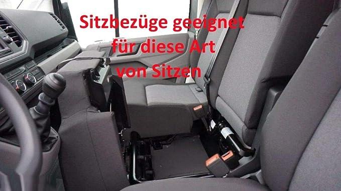 Z4l Sitzbezüge Vip Passgenau Geeignet Für Vw Crafter Ab 2017 2 1 Auto