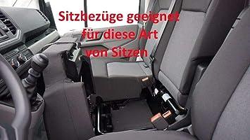 Z4L Sitzbez/üge Hero Passgenau geeignet f/ür VW Crafter ab 2017-7 Sitze
