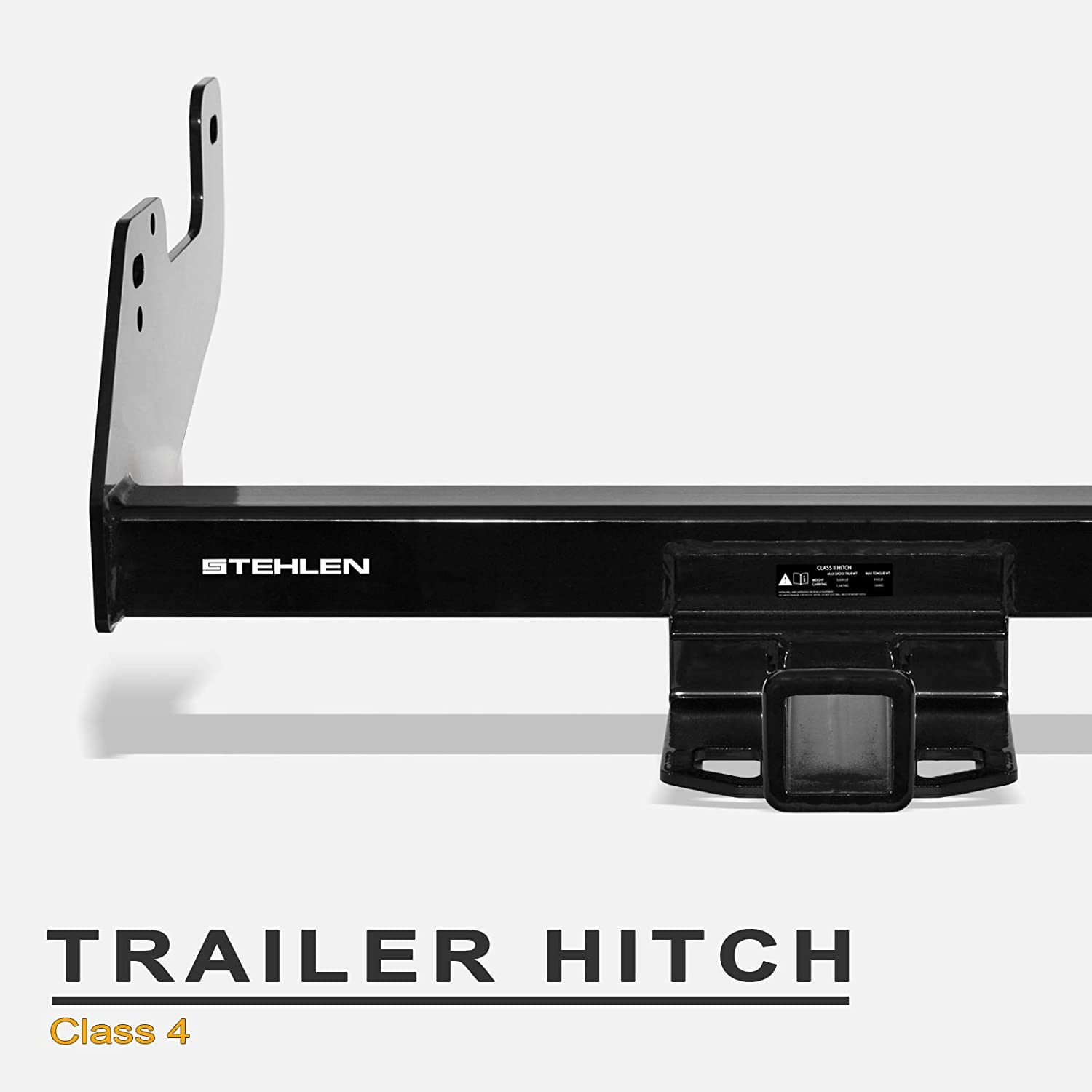 Draw-Tite 76136 Class IV Max-Frame Trailer Hitch with 2 Receiver Tube Opening 1 Pack