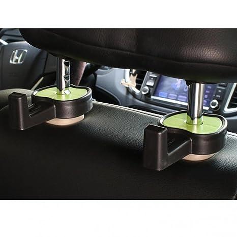 2 ganchos universales para el reposacabezas del coche para ...