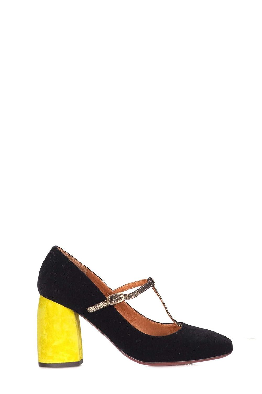Chie Mihara - Zapatos con tacón Mujer Negro SASSA SASSA SASSA Zapatos velv 7a4902