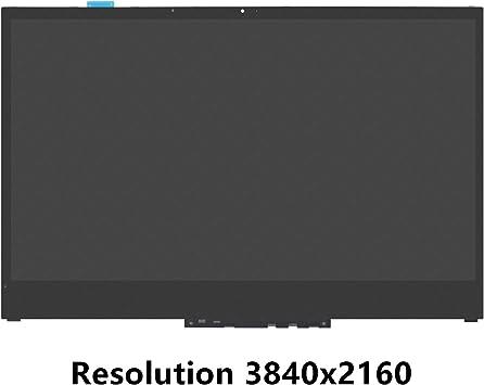FTDLCD® 15.6 Inch 4K QHD LED LCD Pantalla Táctil Digitalizador Asamblea + Marco NV156QUM-N51 Repuesto de Laptop para Lenovo Yoga 730-15IKB 3840x2160: Amazon.es: Electrónica