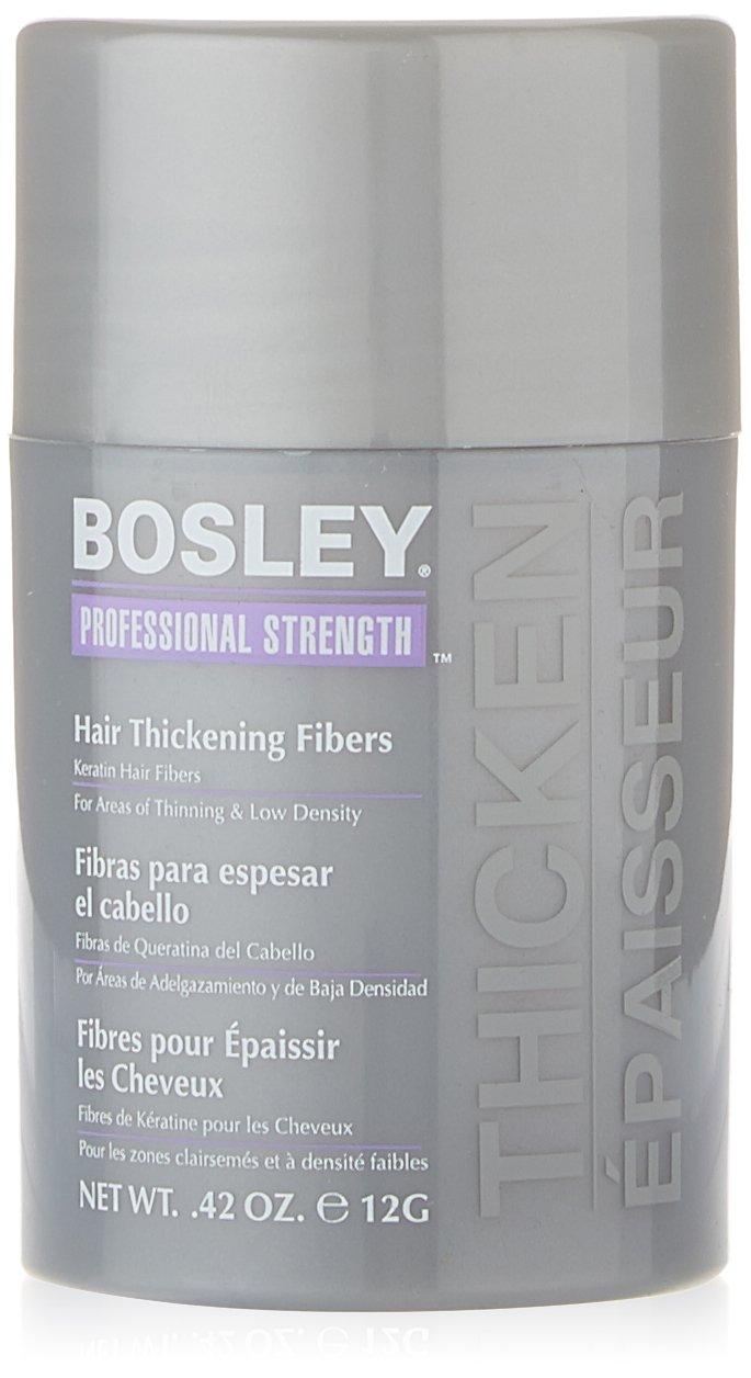 com bosley professional strength hair thickening fibers com bosley professional strength hair thickening fibers dark brown 0 42 ounce beauty