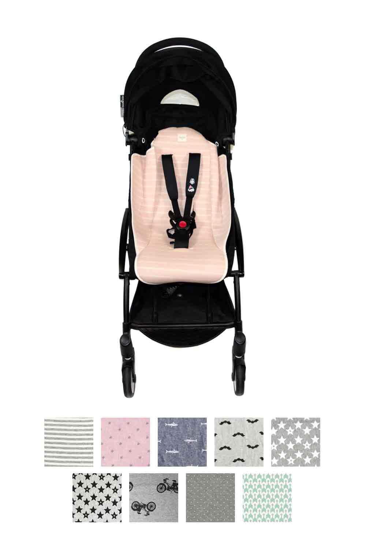 Fundas BCN ® - F89/4003 - Colchoneta para carrito Babyzen Yoyo ® - Ice Cream: Amazon.es: Bebé
