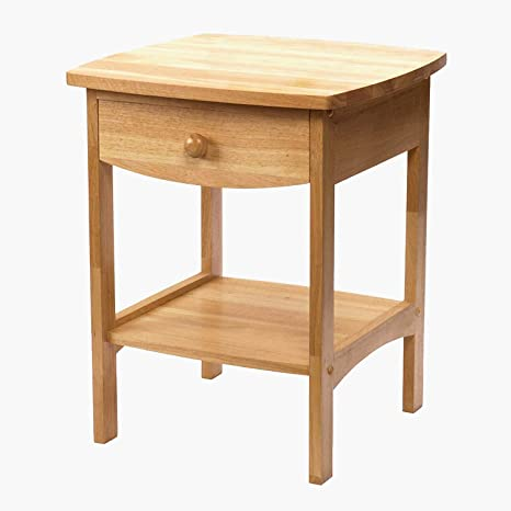 tsr square top table with drawer small