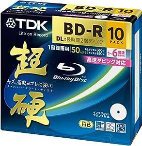 TDK Blu-ray Disc 10 Pack - 50GB 6X BD-R DL - Printable [2010 Version]