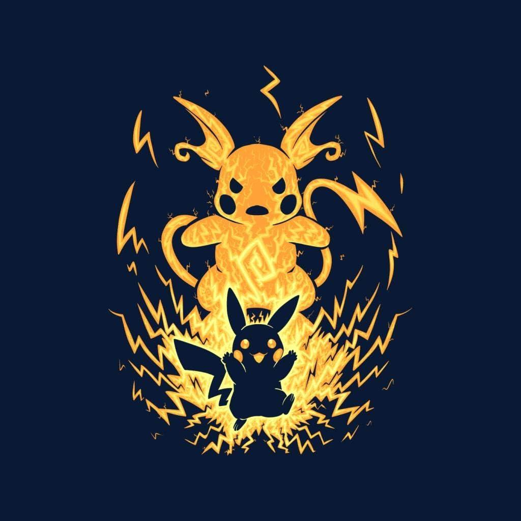Cloud City 7 The Electric Mouse Within Pikachu Raichu Mens Sweatshirt