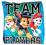 Hunter Paw Patrol 33cm Cushions, 6 Designs to Choose from, inc. Marshall & Skye (Blue Team Players)